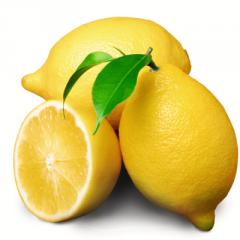 Fragrances citrus. Lemon - fragrance liquid food.