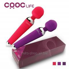 CRDC Life Mini Wand vibrator, Pink.