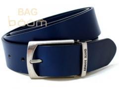 Кожаный универсальный  ремень ( BST-2751 BLUE)