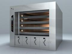 Gas ovens for bakery production
