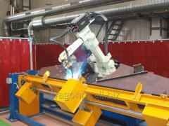 Robotic welding complexes