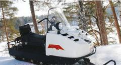Spare parts for snowmobiles