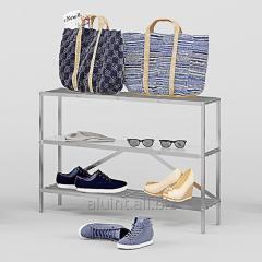 The shelf for footwear of Alyuint of AR 102
