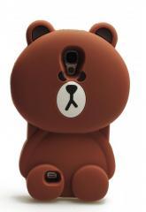 Чехол силиконовый Big Bear для Samsung S4 GT-i9500