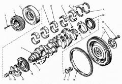 Запчасти для автомобильных дизельных двигателей в