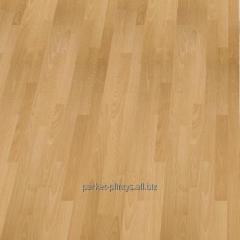Parquet for floor heating