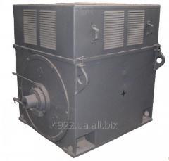 Электродвигатель с фазным ротором серии АК