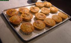 Australian cabbage pies and mushrooms
