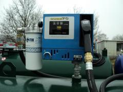 Column for diesel fuel (gas station mini) Cube