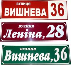 Plates address metal