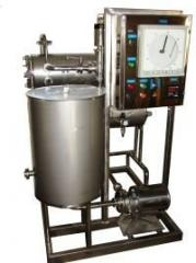 Milk 1-20t/ch pasteurizer