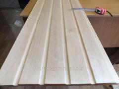 Lining an alder for a bath, at home, a ceiling