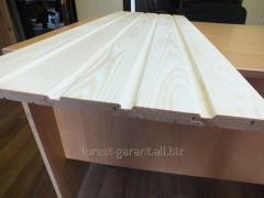 Pine centre-beaded board