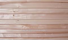 Lining board for sauna