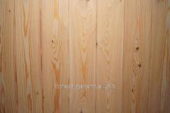 Lining boards with timber imitation