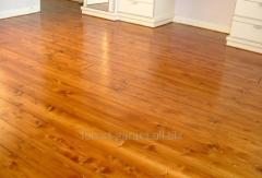 Floor board integral under pain
