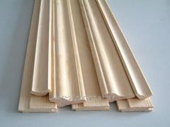 Skirting fibreboard