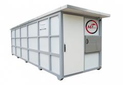 Container filling stations for diesel, bio diesel,