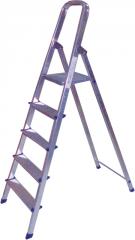 Step-ladder aluminum unilateral 5 steps БЕГЕМОТ™,