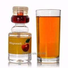 Apple juice (the condensed juice + the ozonized