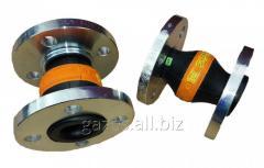 Резиновый компенсатор вибровставка гибкая DN50