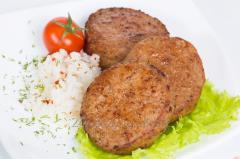 Котлеты с Рисом и мясом 8  кг Полісся