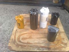 Perforating non-coring bits (melkoshpurovy)