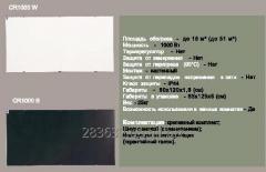 Инфракрасный Керамический обогреватель 1000 Вт ENSA CR1000W