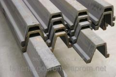 Hot rolled profile for lining of mine workings