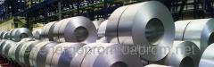 Galvanized steel coil, 0,18-1,2mm