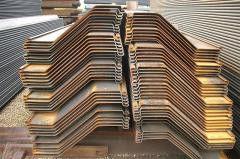 Piling sheet Z Profile, AZ