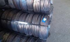 Wire steel thermally processed (knitting) by GOST