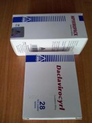 Preparation MPI Viropack + Daclavirocyrl
