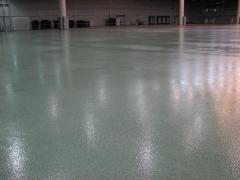 Floors polymeric fluid