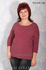 Jumper female PL3-275.1 knitted