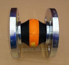 Резиновый компенсатор вибровставка гибкая DN25