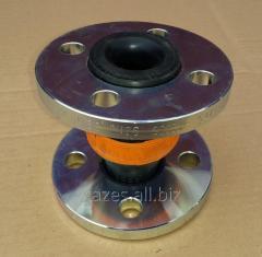 Резиновый компенсатор вибровставка гибкая DN32 1