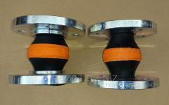 Резиновый компенсатор вибровставка гибкая DN40 1