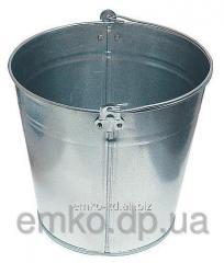 Buckets, galvanized
