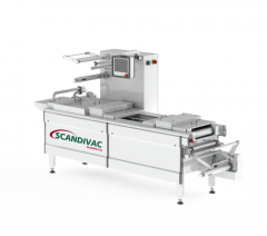 Automatic thermoforming vacuum - the packing line
