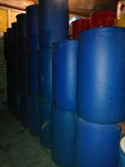 Barrel Plastic food for milk