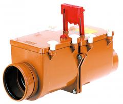 Mechanical main sewer lock from ABS, Dn200mm,
