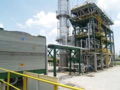 New plant of production of 99,5% of RG9194 ethanol