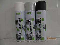 Anti gravel spray