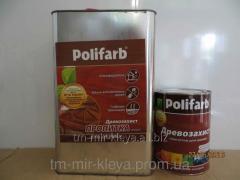 Пропитка по дереву Полифарб 0,7 кг сосна