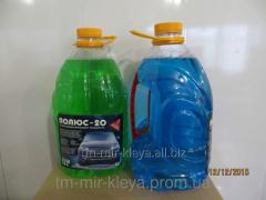 Liquid glass-washing