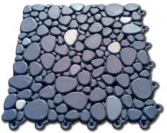 Модульное покрытие для бассейнов Морской камень