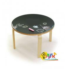 Children's little table cretaceous round