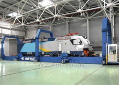 Transbordery to move railway wagons