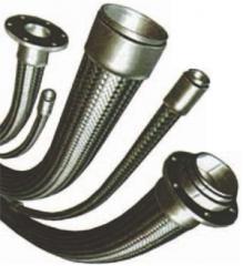 Manguera de metal con accesorios para la soldadura